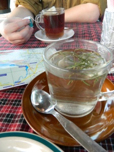my rosemary tea was very fresh!