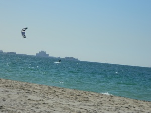It was a great day for wind surfing!