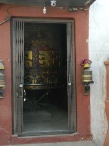 A very large prayer wheel