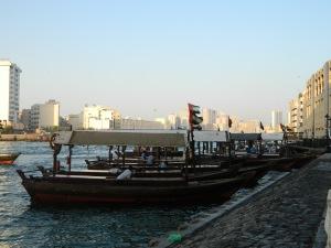 The Abra boats