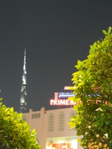 We were even able to see the Burj Khalifa from the restaurant!
