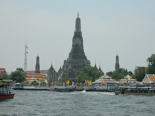 Wat Arun across the canal