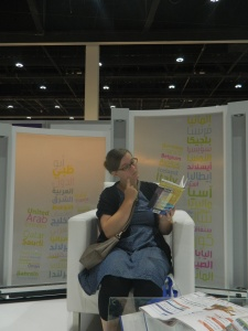 Me reading my new book!
