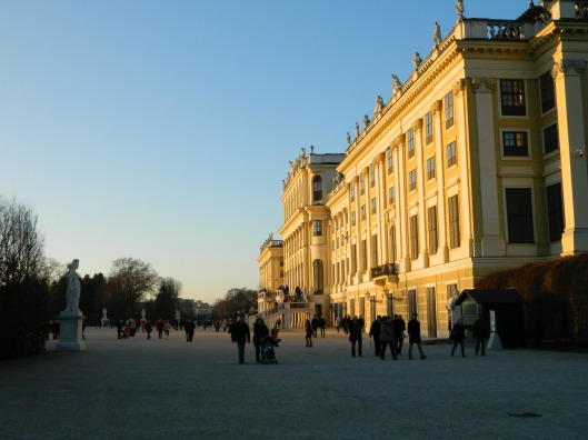 Schonbrunn Palace back
