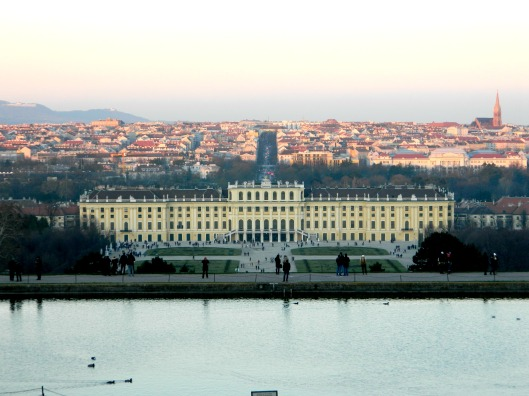 Schonbrunn Palace view 2